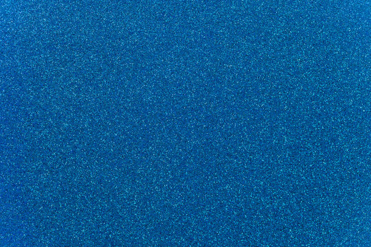 Sky Blue Glitter Background
