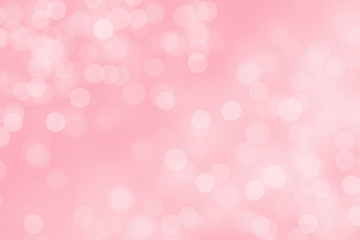Abstract pink background with nice defocused bokeh