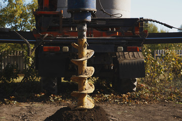 drilling drill ground