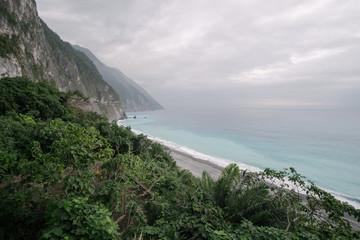 Scenery of Cliffs in Taiwan