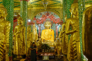 ミャンマー シュエダゴン・パゴダ
