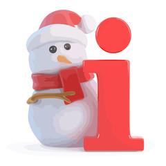 3d Snowman information