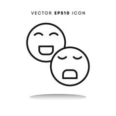 Feelings vector icon