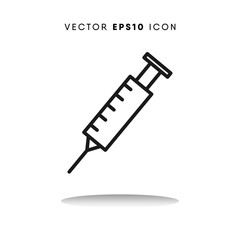Injection vector icon