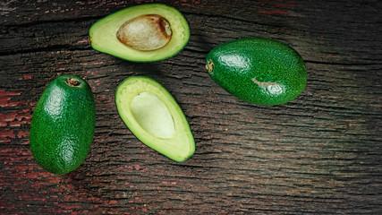 avocado, vegetable, food, organic, green, vegetarian, copy space