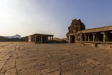 Ancient civilization in Hampi.