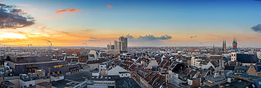 Luftbild Panorama von Bonn
