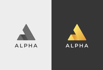 Letter A Logo Icon Design Template.