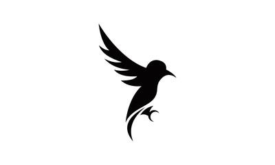wild flying bird logo