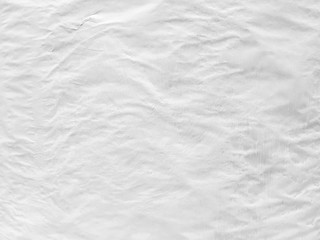 Vintage background form dirty crumpled white paper.