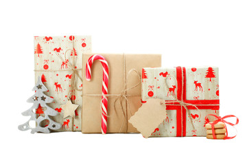 Christmas gifts and sweets