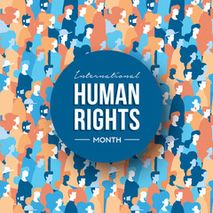 International Human Rights month of people group
