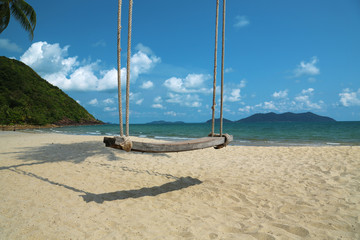 Swing on the beach, Koh-Chang island, Thailand