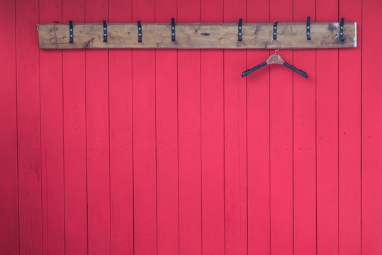 wooden clothes hangers with coat hooks