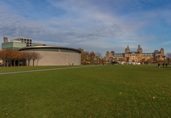 Amsterdam, Netherlands - in the Holland capital there some among the most important museums in Europe, like the famous Rijksmuseum