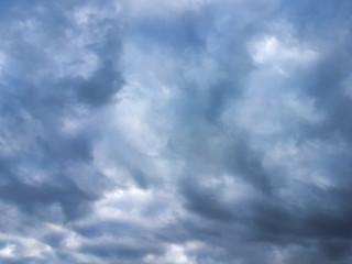 Dramatic dark grim stormy rainy sky Nature photo background