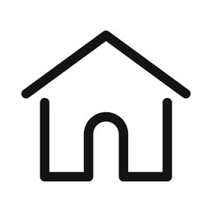 Home icon. Web page,ui vector symbol