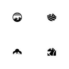 mountain set logo