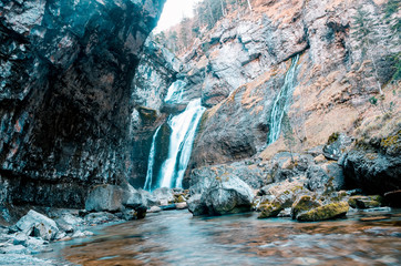 Waterfalls of Ordesa, Huesca, Aragon, Spain, Europe