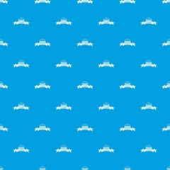 Eco gyro scooter pattern vector seamless blue repeat for any use