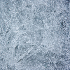 Grey Ice Texture Background with Crystal Surface