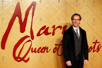 "The European premiere of ""Mary Queen of Scots"" in London"