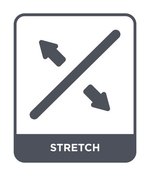 stretch icon vector