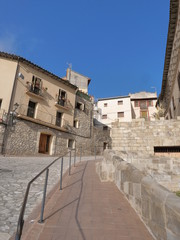 Fonz. Town of Huesca. Aragon,Spain