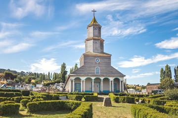 Nercon Church - Castro, Chiloe Island, Chile