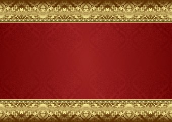 decorative background with old-fashioned patterns