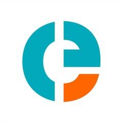 Obraz e, ce, cf, ceg, ceo initials letter company logo - fototapety do salonu