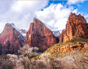 Rock formations of Zion National Park