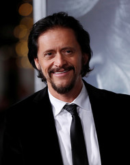 "Cast member Clifton Collins Jr. poses at the premiere of ""The Mule"" in Los Angeles"