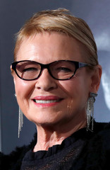 "Cast member Dianne Wiest poses at the premiere of ""The Mule"" in Los Angeles"