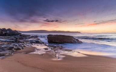 Sunrise and Colour at Pearl Beach