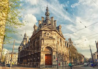 Wall Mural - The National Bank of Belgium, Antwerpen.