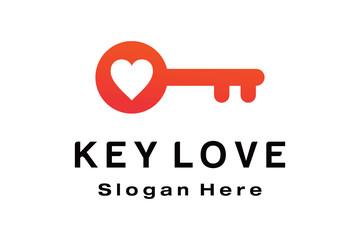 KEY LOVE LOGO DESIGN