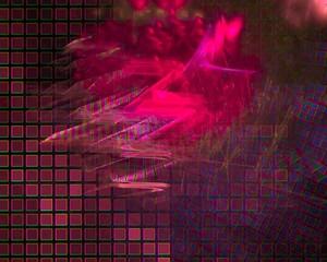 digital abstract fractal, beautiful design fantasy