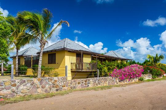 Caribbean house in Antigua, West Indies