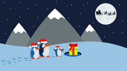 Penguins and Christmas