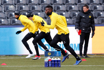 Champions League - BSC Young Boys Training