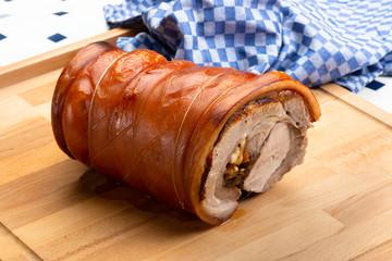 Rollbraten,Schweinebraten
