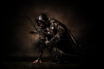 Portrait of an archer
