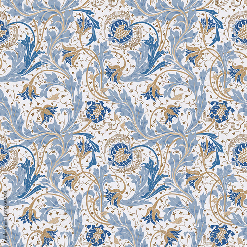 Modern Fabric Design Pattern Floral Pattern For Your Design