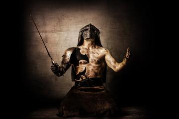 Barbarian warrior