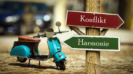 Schild 368 - Harmonie