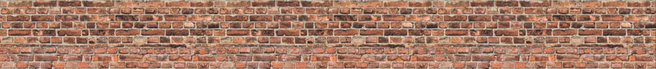 seamless dark stripe from old bricks