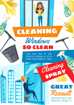 Rope access window cleaning service