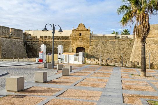 Castle of Santa Catalina in Cadiz, Spain