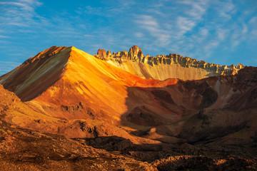 Tunupa volcano by morning